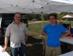 CORSA members Paul Demus and Erich Zahn are ready to help the scouts.